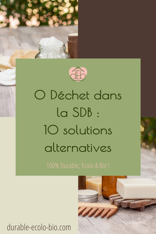 Des actions à mettre en place pour passer au zéro déchet dans la salle de bains, bénéficier de produits sains et naturels et réduire son budget hygiène.