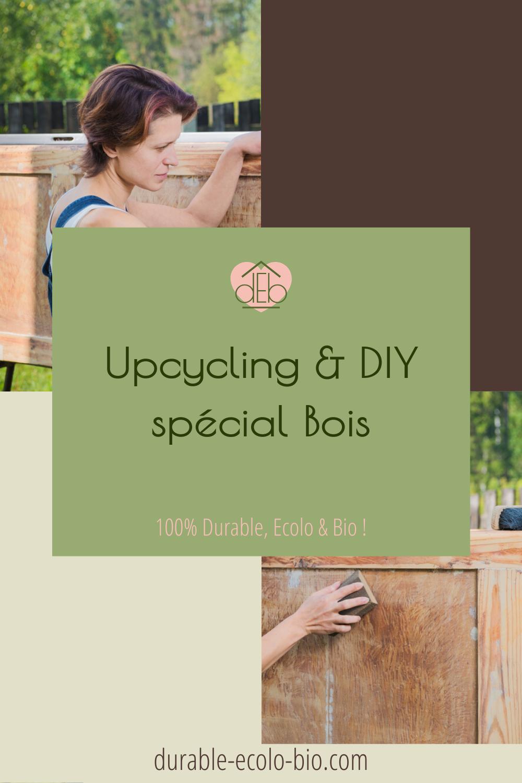 Vieux meubles, caisses ou cagettes en bois, palettes et chutes de bois inutilisées, profitez du confinement pour vous initiez à l'upcycling et au DIY.