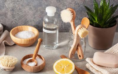 8 produits naturels pour un ménage simple et pas cher