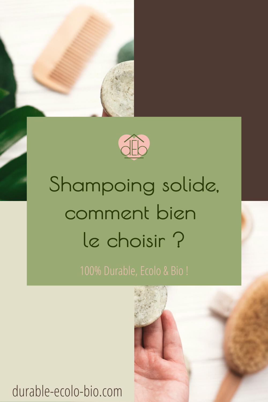 Nos conseils et informations sur les produits naturels composant les shampoings solides pour choisir le plus adapté à la nature de tes cheveux