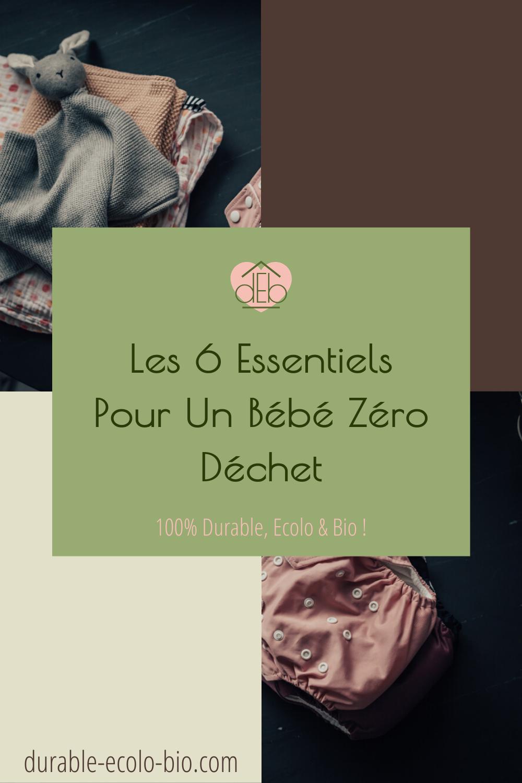 Comment élever son bébé en respectant un mode de vie zéro déchets ? Tout sur le matériel de puériculture, les vêtements, les jouets et l'hygiène.