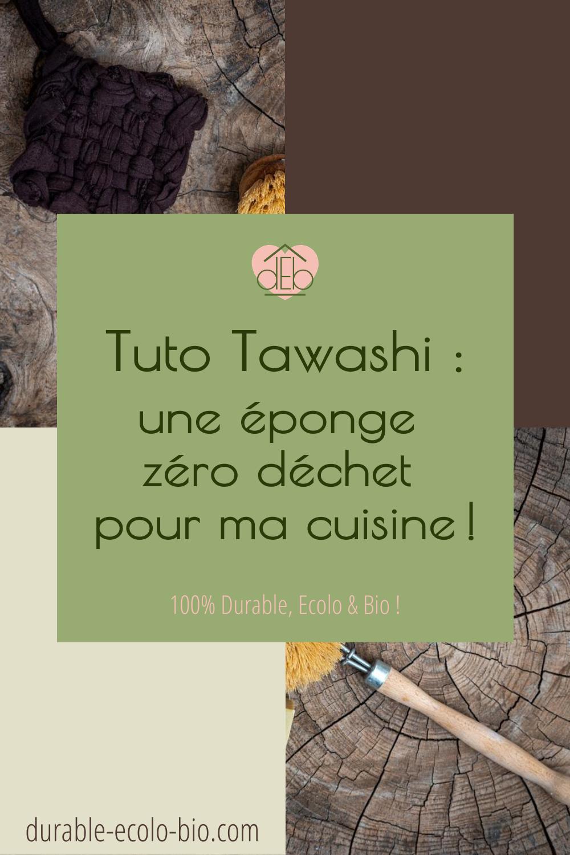 Le Tawashi, cette éponge zéro déchet aux multiples usages vient détrôner les éponges classiques.Pourquoi ? Zoom sur ses utilisations, et tuto !