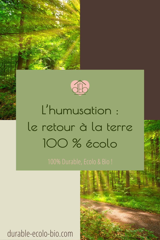 Mourir ok, mais sans polluer. L'humusation : la solution pour une réduction organique complètement naturelle. Votre dernière volonté sera-t-elle verte ?