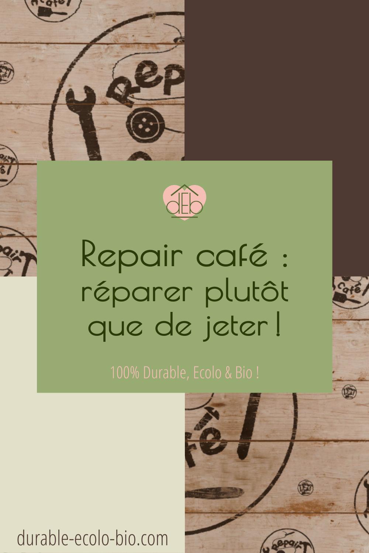 Les Repair Cafés sont des lieux pour apprendre à réparer soi-même des objets cassés Découvre le concept de ses ateliers d'auto-réparation grandissant.
