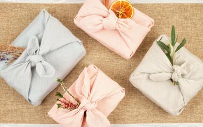 Furoshiki : l'emballage cadeau écoresponsable