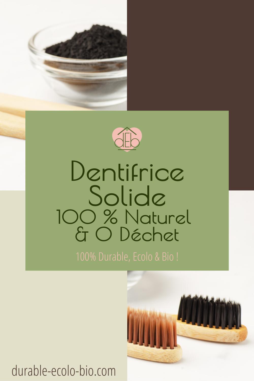 Un dentifrice naturel solide vous protège des caries en préservant la planète. Il blanchit vos dents sans vous empoisonner. A essayer de toute urgence !